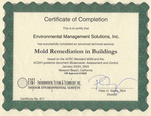resources | environmental management solutions, inc. | mold ...